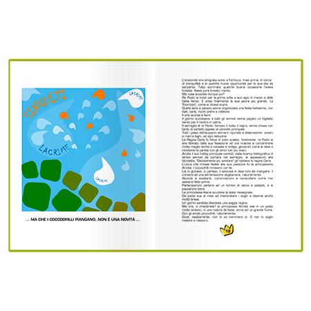 Marta Bucella Annika dei coccodrilli libro per bambini