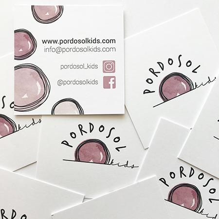 Marta Bucella Pordosol Kids 0-12 Piccoli Romantici Corporate Identiy Biglietti da Visita