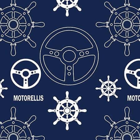 Marta Bucella - Corporate Identity Pattern Design Web Design per Officina Motorellis Pattern